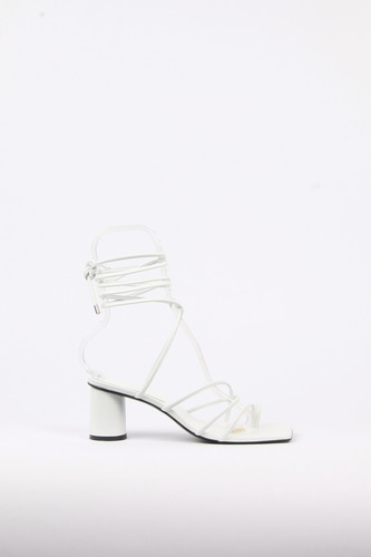 Celina Sandals Leather Whiteblanc sur blanc 블랑수블랑